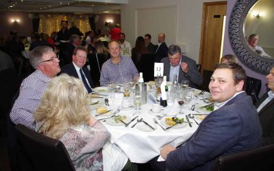 Guild dinner hosts 96 guests
