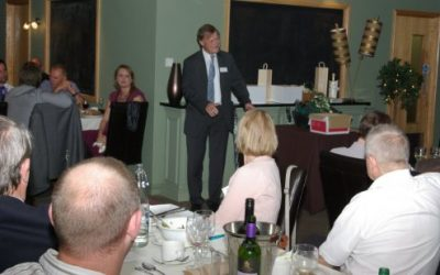 David Amess MP is guest of honour at Guild Dinner